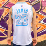 LA LAKERS WHITE CITY EDITION JERSEY - LEBRON JAMES 23