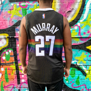DENVER NUGGETS BLACK CITY EDITION JERSEY - JAMAL MURRAY 27