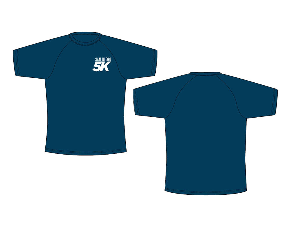 San Diego 5K Event Tech Shirt