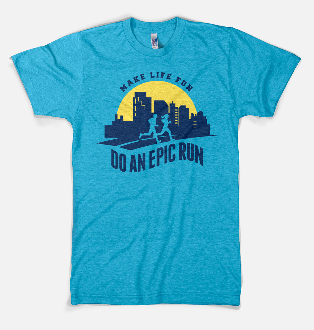 Make Life Fun - Do an Epic Run - Premium Designer T-shirt