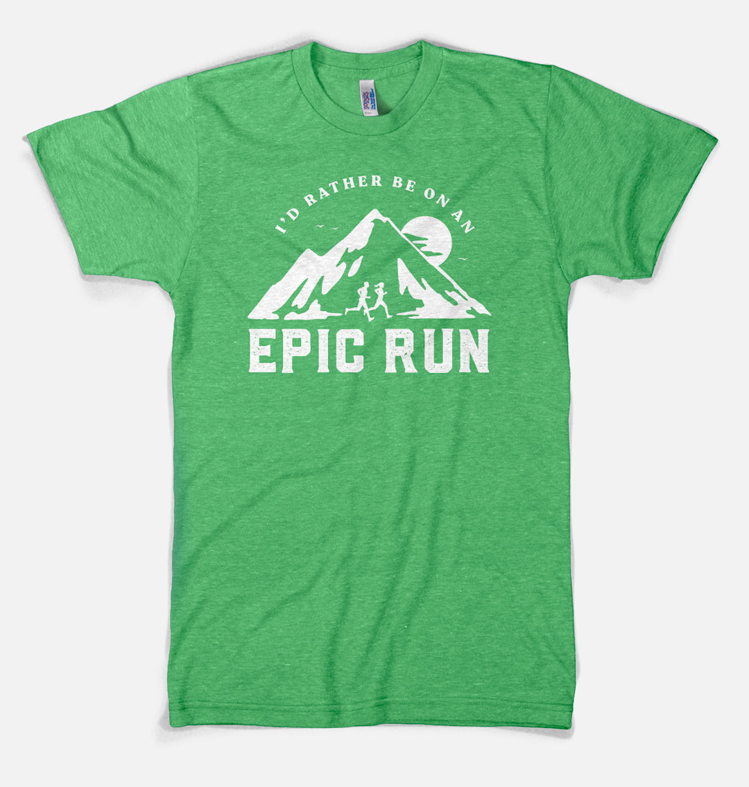 I'd Rather Be on An Epic Run - Premium Designer T-shirt
