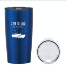 San Diego Half Marathon Everest Stainless Steel Tumbler - 20oz