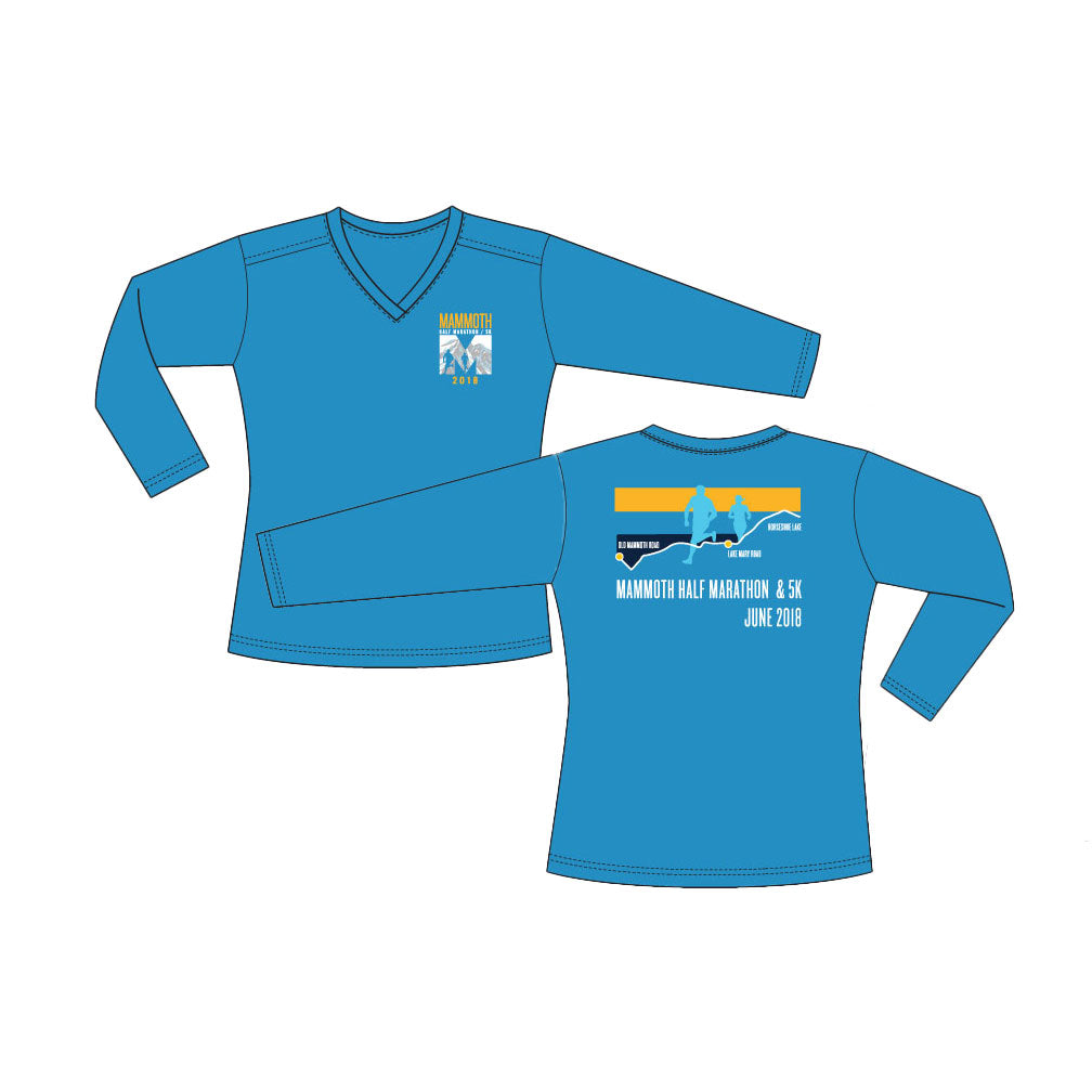 2018-19 Mammoth Half Marathon Event Tech Shirts