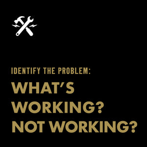 DOWNLOADABLE TOOL: What's working? Not working?