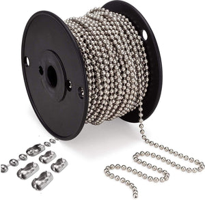 Roller and Roman Blind Metal Chain