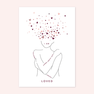 I AM LOVED - Greeting Card