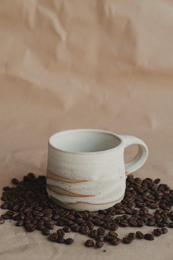 Handmade Ceramic Camp Mug