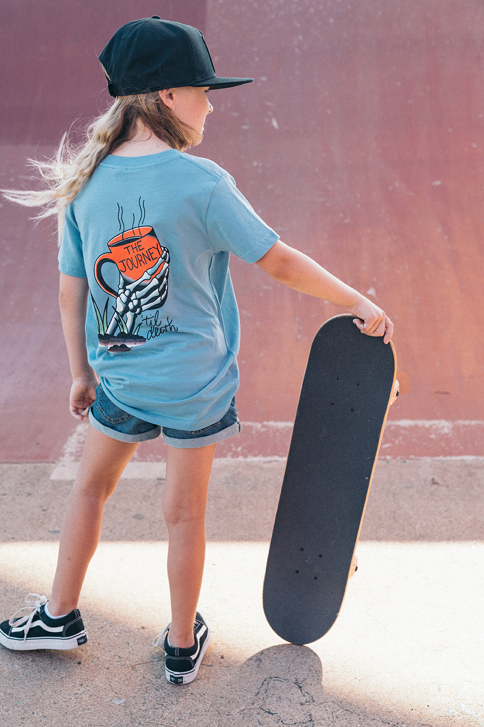 The Journey Kids Blue Tee