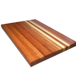Handcrafted Cherry Wood Cutting Board Stripes