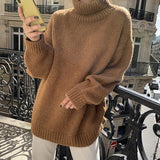 comfy chunky turtle neck sweater