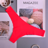 Hot Silk Seamless Thong Panties