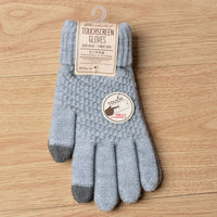 knitted Phone compatible gloves