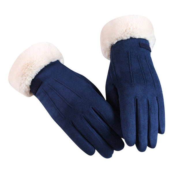 wind proof warm driving gloves