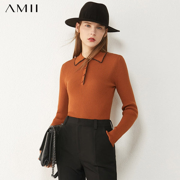 Slim fit Long sleeve lightweight sweater