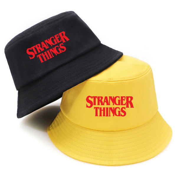 Stranger Things Print Panama Bucket Hat