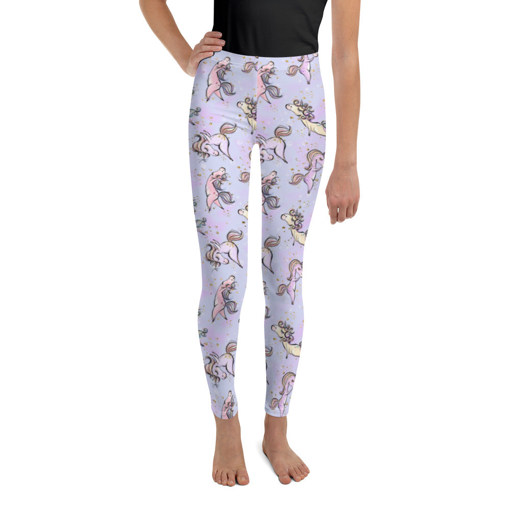 Unicorn Yoga Youth Leggings