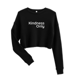 Kind Crop Sweatshirt