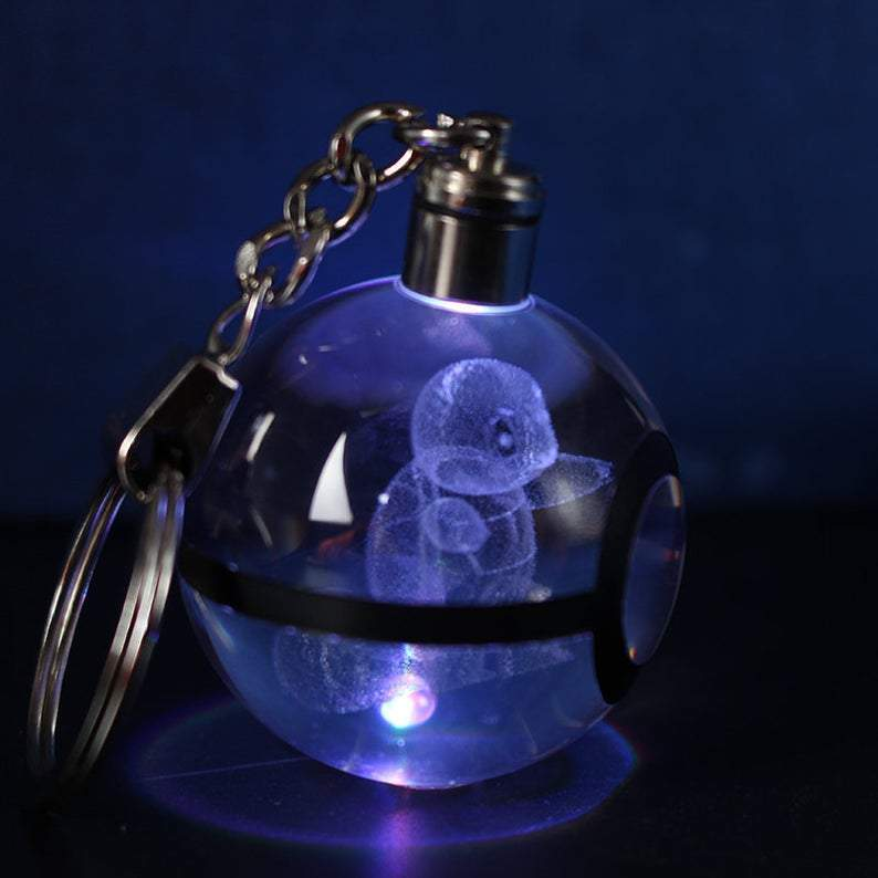 Crystal Glowing Pokéchain - FREE with Pokéball