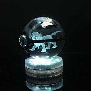 Absol Glowing Crystal Pokeball
