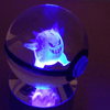 Gengar Glowing Crystal Pokeball