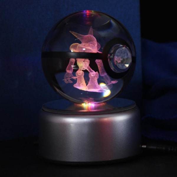 Alakazam Glowing Crystal Pokeball