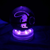 Mew Glowing Crystal Pokeball