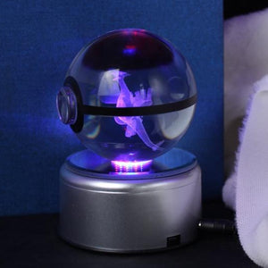 Lugia Glowing Crystal Pokeball