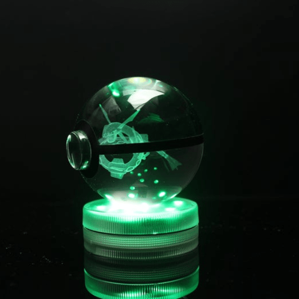 Rayquaza Glowing Crystal Pokeball
