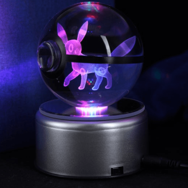 Umbreon Glowing Crystal Pokeball