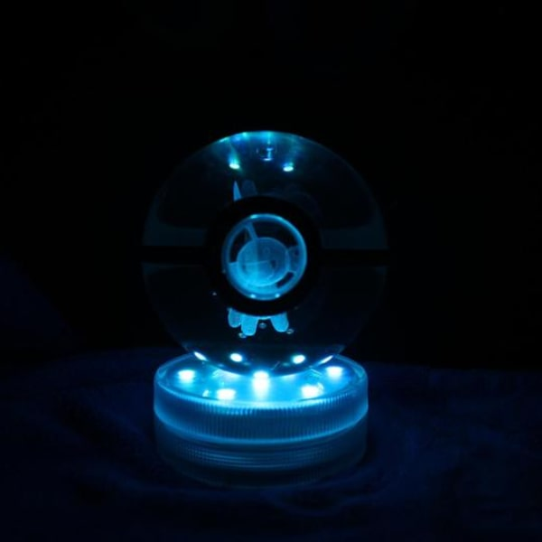 Mudkip Glowing Crystal Pokeball