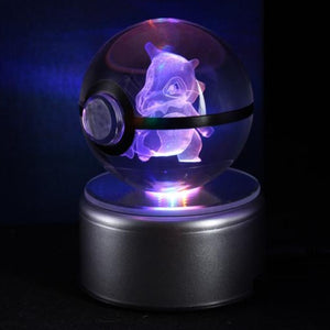 Cubone Glowing Crystal Pokeball