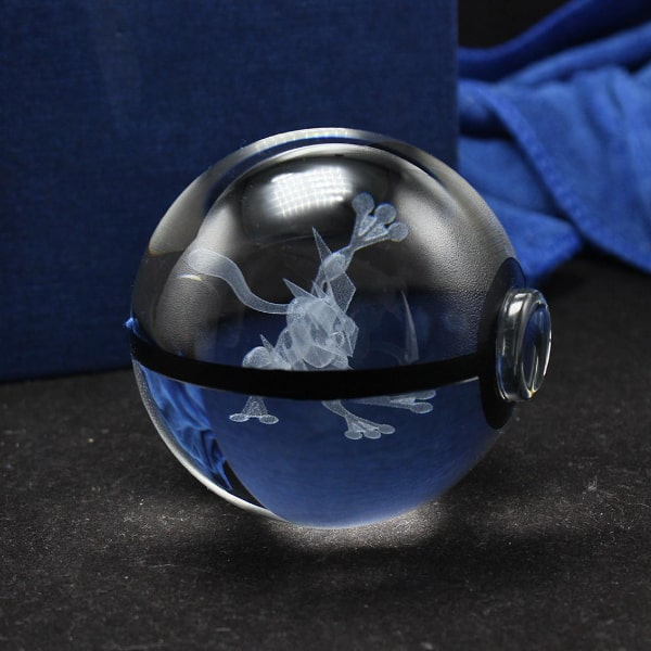Greninja Glowing Crystal Pokeball