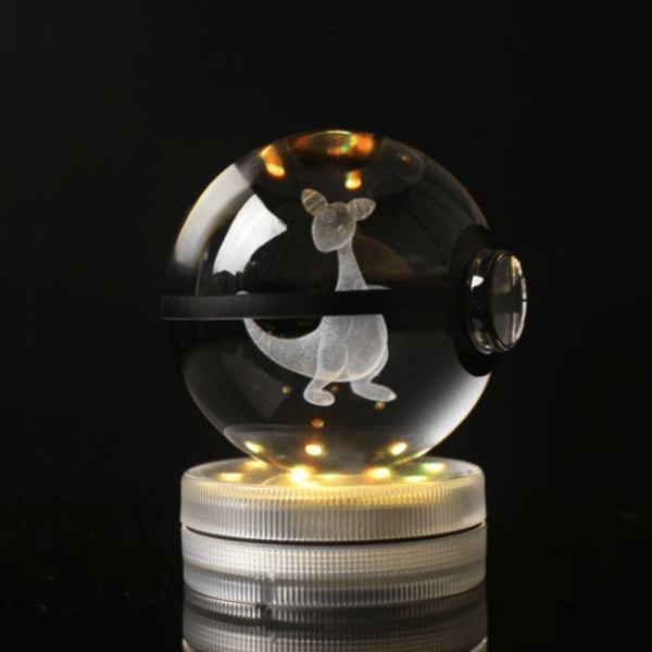 Ampharos Glowing Crystal Pokeball