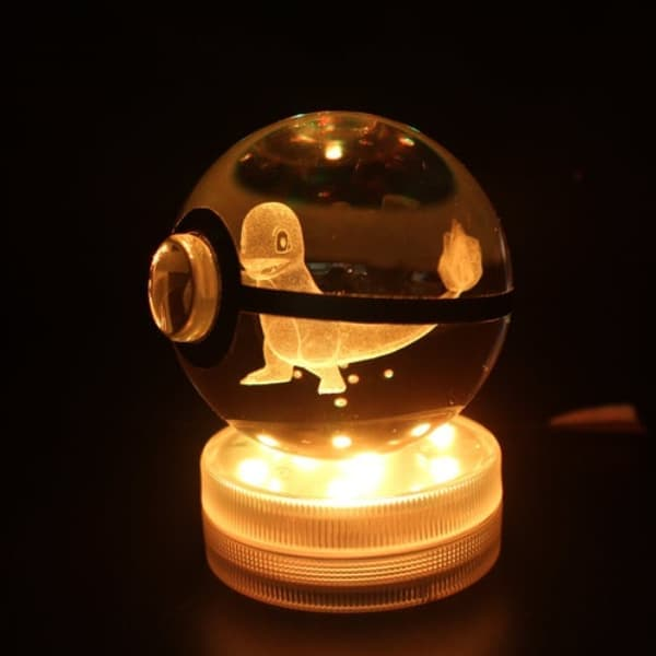 Charmander Glowing Crystal Pokeball