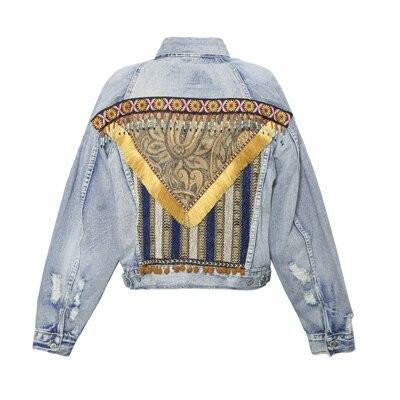 Chaqueta hippie chic Mujer