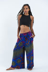 Pantalones hippies azul real
