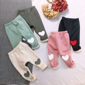 Winter Baby Girls Fleece Pants