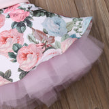 Princess Toddler Flower Lace Cloth