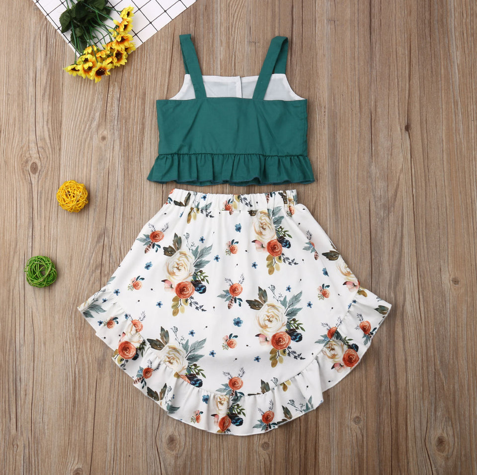Leisure Summer Beach Girls Outfit