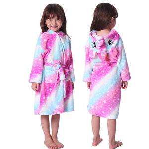 Beautiful,Soft & Comfy Winter Robe De Chambre For Girls