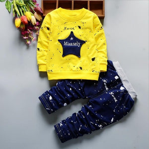 Star Printed Toddler Tracksuits