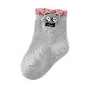 Decorative Soft Newborn Socks