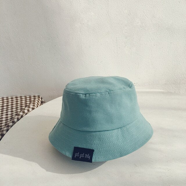 Solid Color Cotton Baby Hats