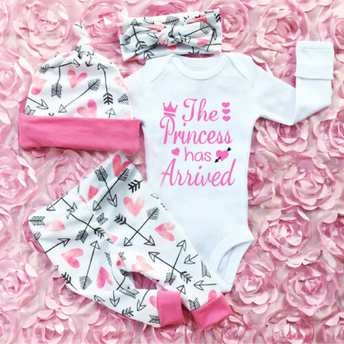 Baby Girls Playsuit Pants Outfit
