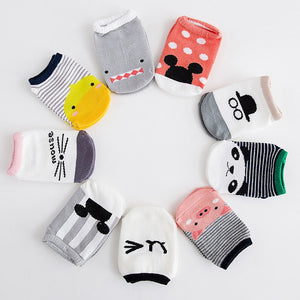 Toddler Low Cut Socks Shoes Slippers