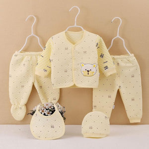 Newborn Cartoon Sleepwear Set