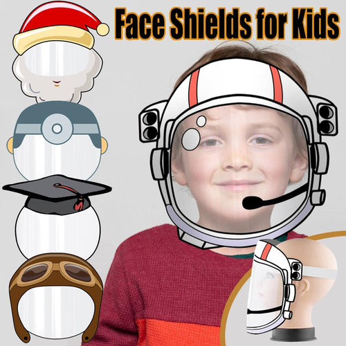 Astronaut Designed Face Shield for Kids