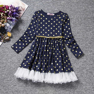 Beautiful and stylish Polka-Dot Dress 2020