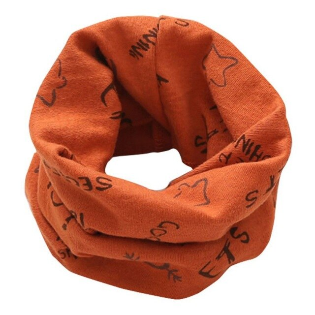 Baby Unisex Winter Cartoon Scarf