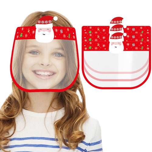 New Christmas themed Kids Face shields